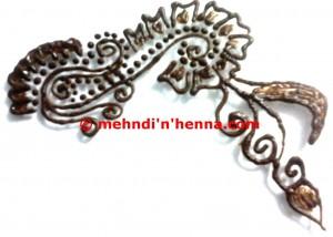 Complicated Henna Tattoo