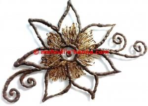 Floral Henna Tattoo
