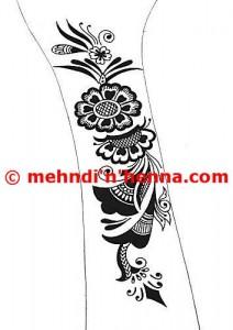 Wrist Henna Tattoo