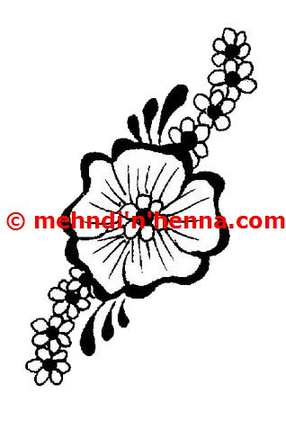 Flower Henna Art Designs Flowers Healthy