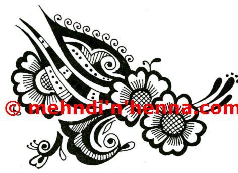 Palm Henna Tattoo
