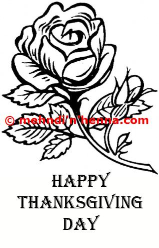 Thanksgiving Henna Tattoo