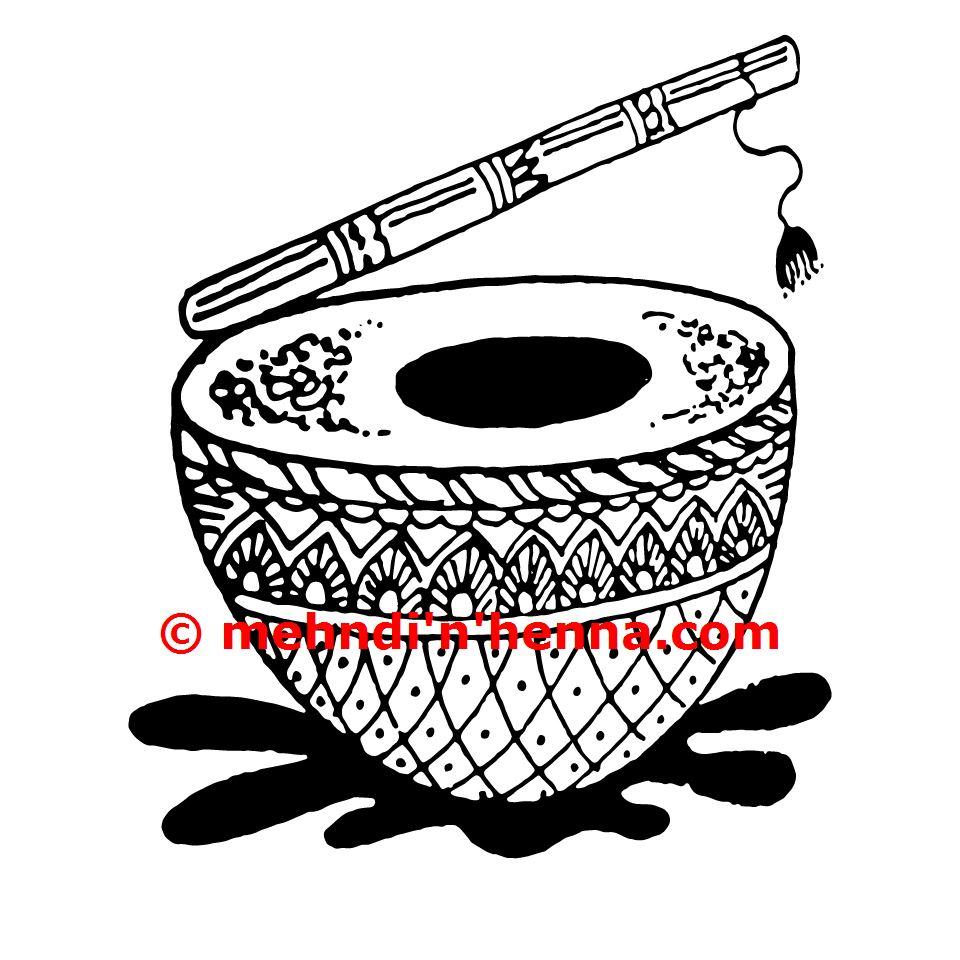 Drum Henna Tattoo
