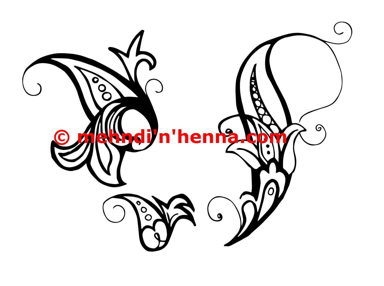 Paisley Henna Tattoos