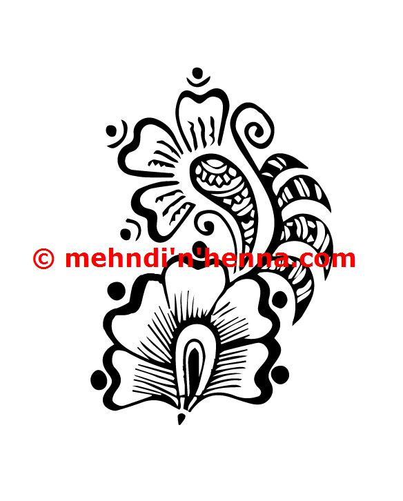 Arabic Henna Tattoo 2 Mehndi n Designs